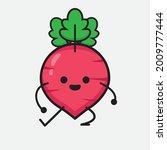 vector illustration of red... | Shutterstock .eps vector #2009777444