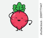 vector illustration of red... | Shutterstock .eps vector #2009777447