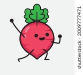 vector illustration of red... | Shutterstock .eps vector #2009777471