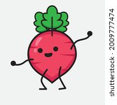 vector illustration of red... | Shutterstock .eps vector #2009777474