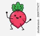 vector illustration of red... | Shutterstock .eps vector #2009777477