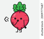 vector illustration of red... | Shutterstock .eps vector #2009777687