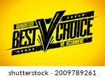guaranteed best choice rubber...   Shutterstock .eps vector #2009789261