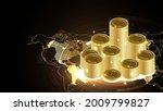 bitcoin cryptocurrency digital... | Shutterstock .eps vector #2009799827