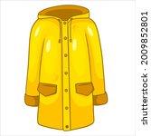 Rain Protection. Yellow...