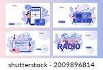 radio on air. tiny people...