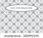 thai art background vector | Shutterstock .eps vector #200992154