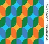 seamless geometric pattern.... | Shutterstock .eps vector #2009924747