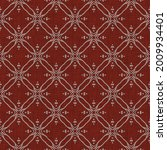 seamless french red gray... | Shutterstock . vector #2009934401