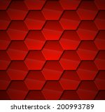 Red Roof Tiles Volume. Vector...
