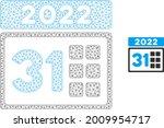 mesh 2022 last day model icon.... | Shutterstock .eps vector #2009954717