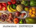 Seasonal Fruits And Vegetables...