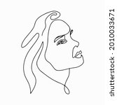 continuous line drawing. trendy ...   Shutterstock .eps vector #2010033671