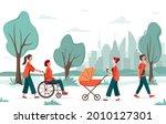 outdoor activity. people... | Shutterstock .eps vector #2010127301