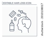 treatment line icon.... | Shutterstock .eps vector #2010138017