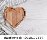 An Empty Heart Shaped Plate...