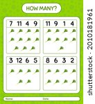 how many counting game with... | Shutterstock .eps vector #2010181961