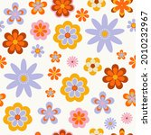 seamless pattern with cute... | Shutterstock .eps vector #2010232967