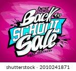 back to school sale vector...   Shutterstock .eps vector #2010241871