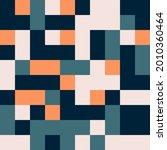 seamless square tile random... | Shutterstock .eps vector #2010360464