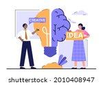 creative brain with innovative...   Shutterstock .eps vector #2010408947