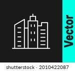 white line city landscape icon...   Shutterstock .eps vector #2010422087