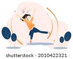 concept happy  relax  enjoy.... | Shutterstock .eps vector #2010422321