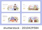 travel agency services web... | Shutterstock .eps vector #2010429584