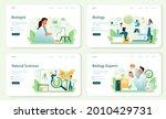 biologist web banner or landing ...   Shutterstock .eps vector #2010429731