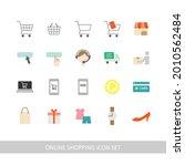 online shopping illustration... | Shutterstock .eps vector #2010562484