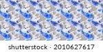blue tie dye. gray line blot....   Shutterstock . vector #2010627617