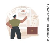 careers abstract concept vector ...