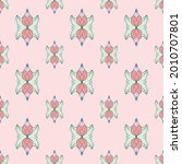 fabric repeat pattern  seamless ... | Shutterstock .eps vector #2010707801