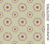 fabric repeat pattern  seamless ... | Shutterstock .eps vector #2010707831