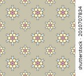 fabric repeat pattern  seamless ... | Shutterstock .eps vector #2010707834