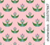 fabric repeat pattern  seamless ... | Shutterstock .eps vector #2010707867