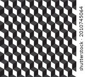 seamless 3d cube abstract...   Shutterstock .eps vector #2010745064