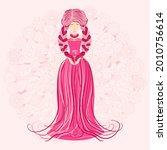 zodiac  virgo zodiac sign... | Shutterstock .eps vector #2010756614