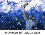 uruguayan soccer player ... | Shutterstock . vector #201084005