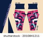 leggings pants vector for gym... | Shutterstock .eps vector #2010841211