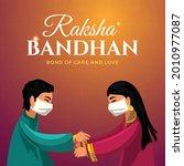 rakhi celebration  indian...   Shutterstock .eps vector #2010977087