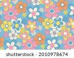 retro vector background with... | Shutterstock .eps vector #2010978674