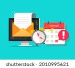 deadline online task concept... | Shutterstock .eps vector #2010995621