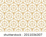 the geometric pattern with...   Shutterstock .eps vector #2011036307