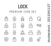premium pack of locks line...