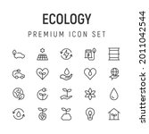 premium pack of ecology line...