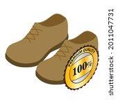 desert boots icon isometric... | Shutterstock .eps vector #2011047731