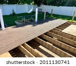 Remodeling A Deck In A Suburban ...
