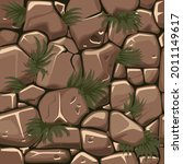 seamless texture stones with...