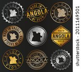 angola business metal stamps.... | Shutterstock .eps vector #2011169501